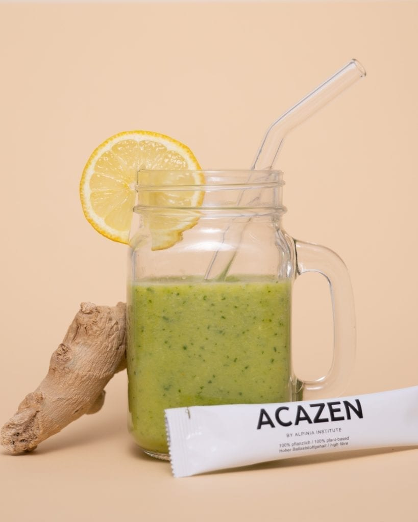 Cucumber-Spice Afternoon Boost - Shake 3