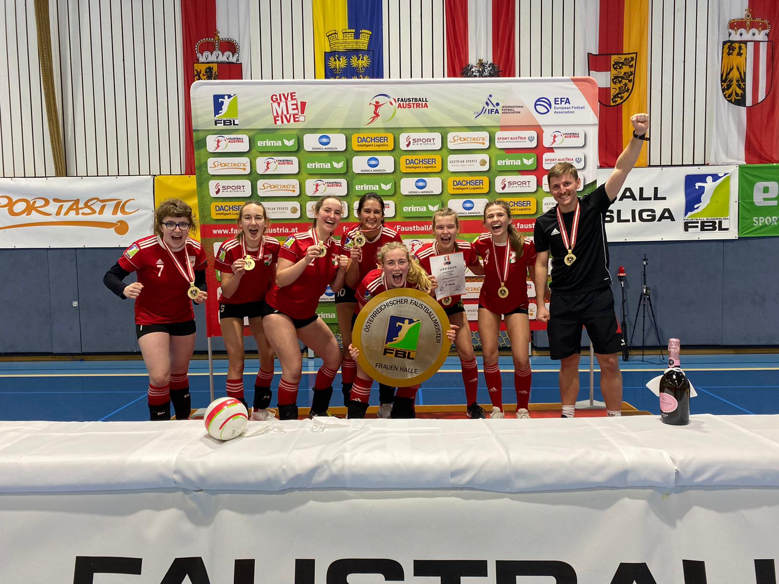 Seekirchens Wildcats holen mit unglaublicher Performance Staatsmeistertitel!